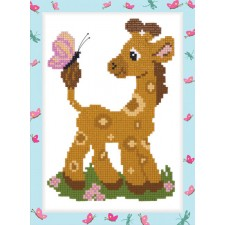 Diamond Painting Kleine Giraf - Little Giraffe