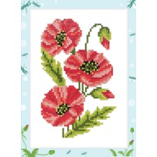 Diamond Painting Klaprozen - Poppies