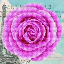 Diamond Art Roos - Rose