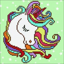 Diamond Art Feest-eenhoorn - Fun Unicorn