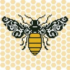 Diamond Art Bij - Bee