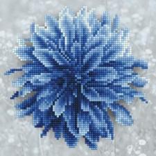 Diamond Art Blauwe Dahlia - Blue Dahlia
