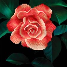 Diamond Art Rose