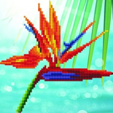 Diamond Art Bird of Paradise - Leisure Arts