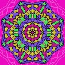 Diamond Art Mandala