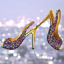 Diamond Art Hoge hakken - High Heels