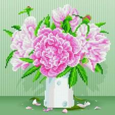 Diamond Art Engesle Rozen  - English Roses