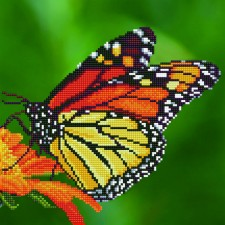 Diamond Art Monarch Butterfly