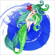 Diamond Art Mermaid - Leisure Arts