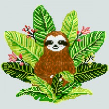 Diamond Art Sloth