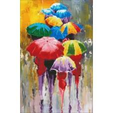 Diamond Art Regenachtige dag - Rainy Day