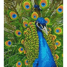 Diamond Art Pauw - Peacock