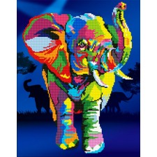 Diamond Art Elephant