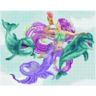 Diamond Art Mermaid and Friends