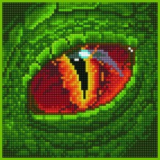 Diamond Art Dragon Eye