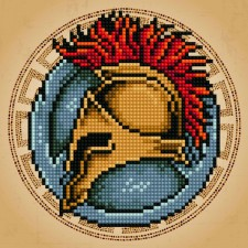 Diamond Art Spartan