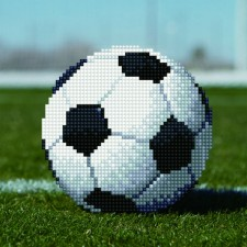 Diamond Art Soccer Ball