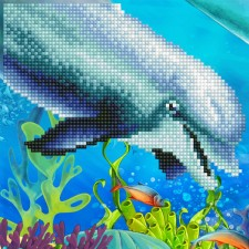 Diamond Art Dolphin