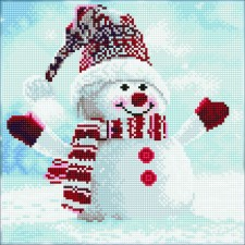 Diamond Art Snowman - Leisure Arts