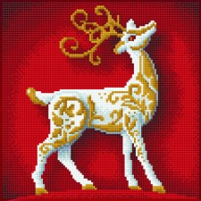 Diamond Art Reindeer