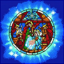 Diamond Art Nativity