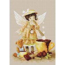 Borduurpakket Chocolate Fairy