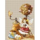 Borduurpakket Coffee Fairy
