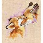 Borduurpakket Vossen - Foxes
