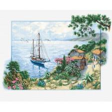 Borduurpakket Zeegezicht - Seascape