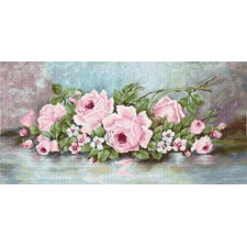 Borduurpakket Petit-point Rozen - Roses