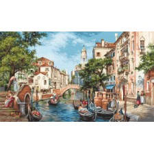 Cross stitch kit The Streets of San Polo - Luca-S