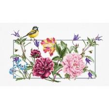 Borduurpakket Lentebloemen - Spring Flowers