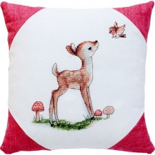 Borduurkussen hertje - Pillow Little Deer
