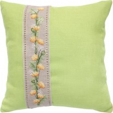 Kussenpakket Cushion Flowers Green