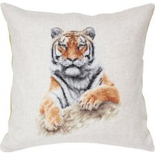 Borduurkussen Pillow Tiger