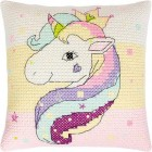 Borduurkussen Eenhoorn - Pillow Unicorn