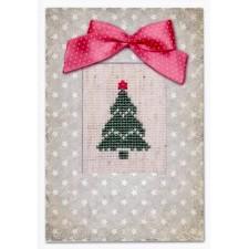 Kaart kerstboom - Postcard Christmas Tree