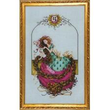 Borduurpatroon Rapunzel