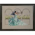 Cross stitch chart Garden Prelude - Mirabilia Designs