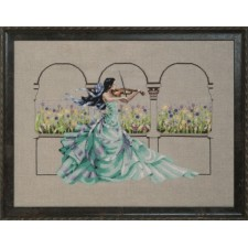 Cross stitch chart Garden Prelude