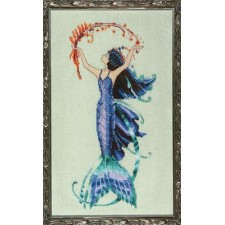 Borduurpatroon Petite Mermaid Collection: Sea Flora