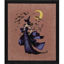 Borduurpatroon Bewitching Collection - Raven