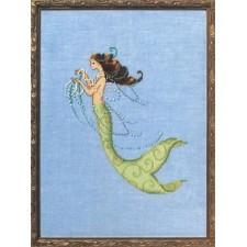 Borduurpatroon Petite Mermaid Collection: Tesoro Mia