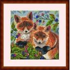 Borduurpakket Foxes