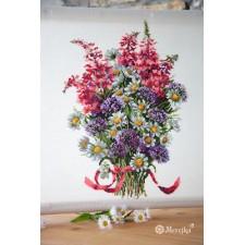 Borduurpakket Veldboeket - The Field Bouquet