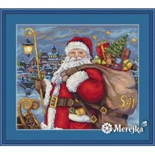 Borduurpakket Santa is Coming!