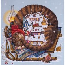 Borduurpakket Gezellige winter - Cozy Winter
