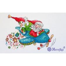 Borduurpakket Christmas Flight