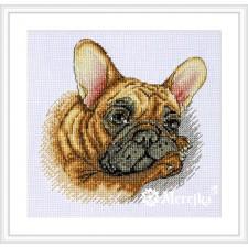 Borduurpakket French Bulldog