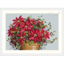 Borduurpakket Poinsettia